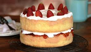 Grandma's Sponge Cake | Julie Goodwin